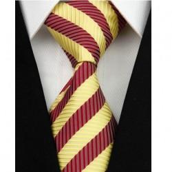 Hedvábná kravata pruhovaná NT0063