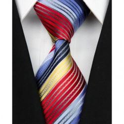 Hedvábná kravata pruhovaná NT0053