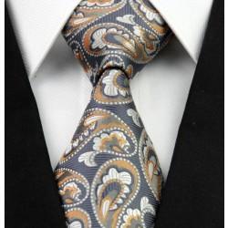 Hedvábná kašmírová kravata modrá NT0253