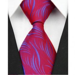 Hedvábná kravata červená NT0085