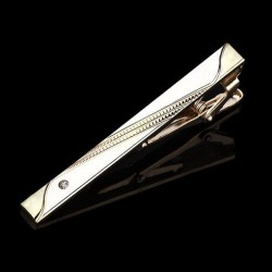 Spona na kravatu zlatá