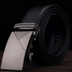 Pánský kožený opasek černý