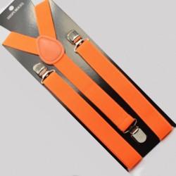 Moderní kšandy oranžové