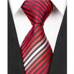 Hedvábná kravata červená NT0001