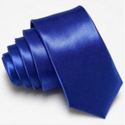 Úzká SLIM kravata modrá