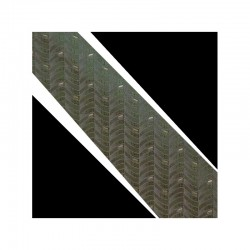 Hodvábná kravata zelená