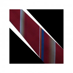 Hodvábná kravata červená