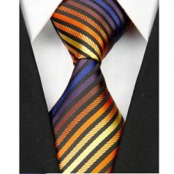 Hedvábná kravata vícebarevná NT0040