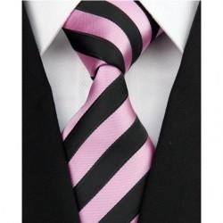 Hedvábná kravata růžová NT0171