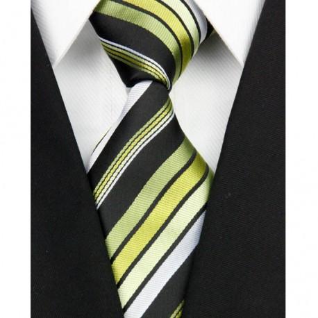 3ac8003aa78 Hedvábná kravata zelená NT0137
