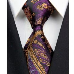 Hodvábna kravata čierná NT0359