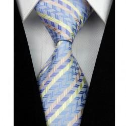 Hedvábná kravata modrá NT0013