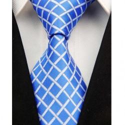 Hedvábná kravata modrá NT0022