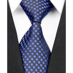 Hodvábna kravata čierna NT0060