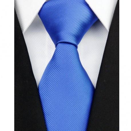 b7703bbe794 Hedvábná kravata modrá NT0208 - Wemay