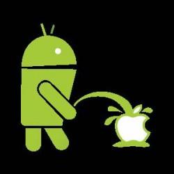 Tričko Android vs Apple