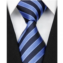 Hedvábná kravata modrá NT0076
