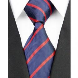Hedvábná kravata modrá NT0170