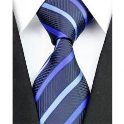 Hedvábná kravata modrá NT0187