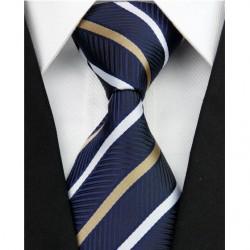 Hedvábná kravata modrá NT0200