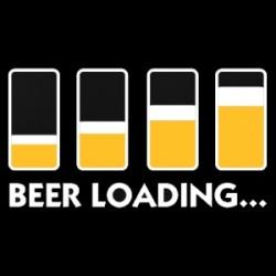 Tričko Beer loading