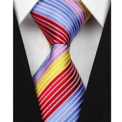Hedvábná kravata pruhovaná NT0103