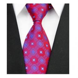 Hedvábná kravata červená NT0091