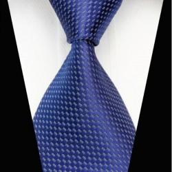 Hedvábná kravata modrá NT0486