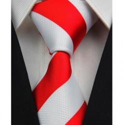 Hedvábná kravata červená NT0092