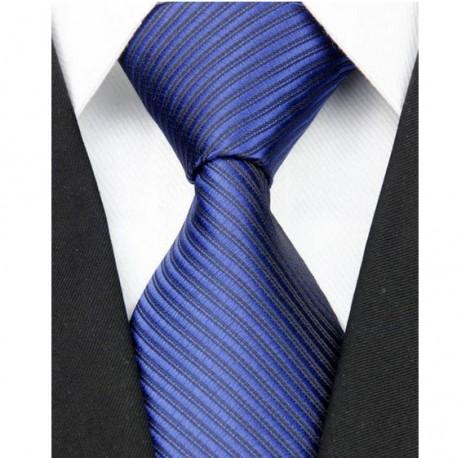 6c0404eafca Hedvábná kravata modrá NT0070 - Wemay
