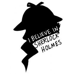 Tričko I believe in Sherlock Holmes