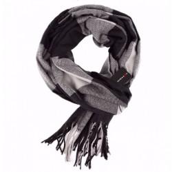 Pánská zimní šála černá