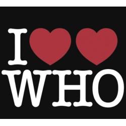 Tričko I love Doctor Who