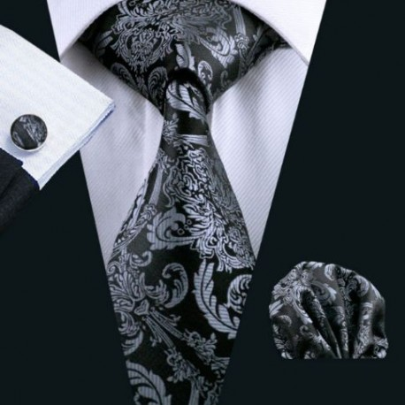 Dárkové balení černá kravata ee9c14343d