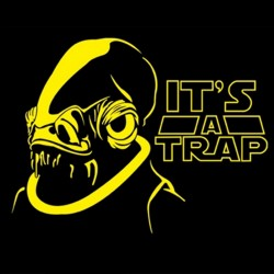 Tričko It´s a trap