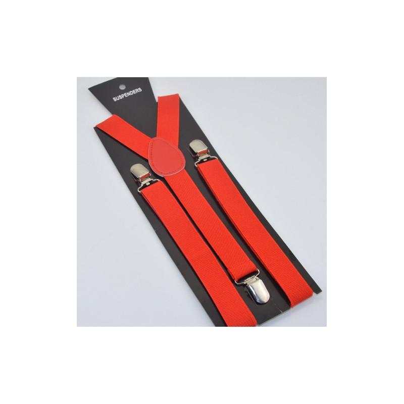Moderní kšandy červené - Wemay 74387a0602