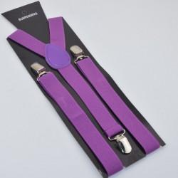 Moderní kšandy fialové