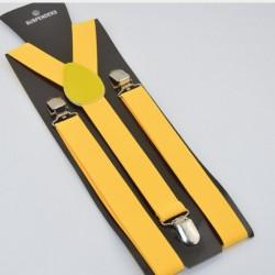 Moderní kšandy žluté