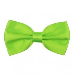 Zelený motýlek s pevným uzlem