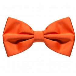 Oranžový motýlek s pevným uzlem