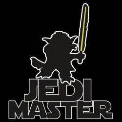 Tričko Jedi master