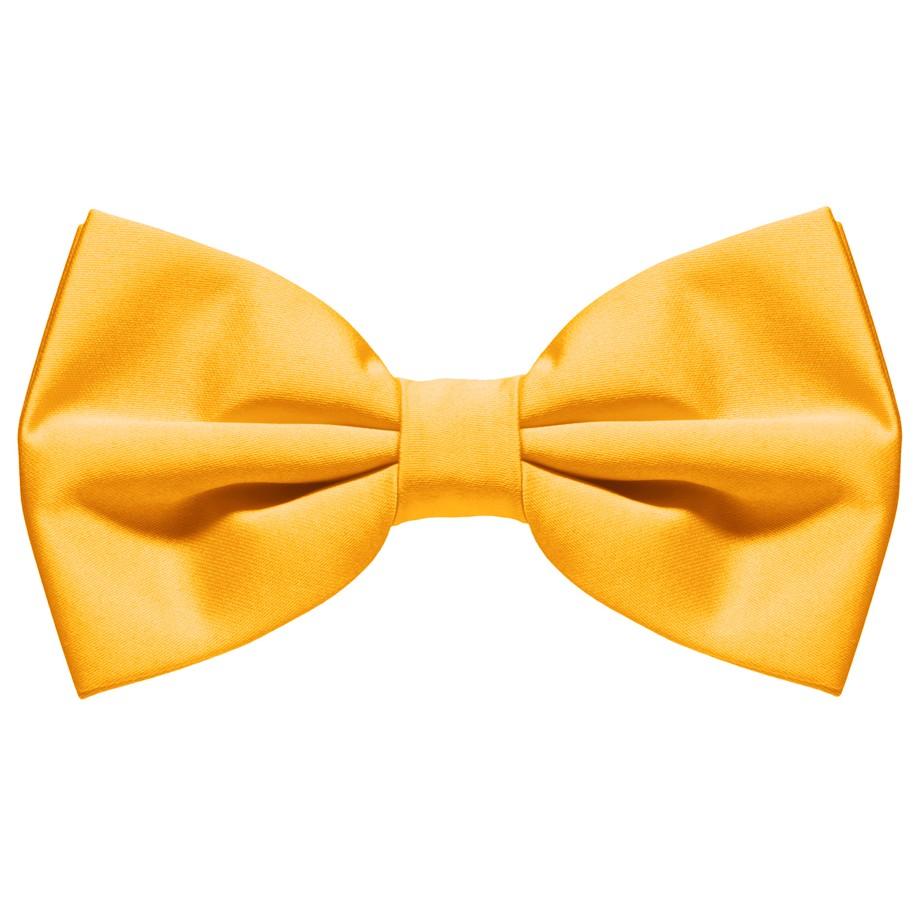 Žlutý motýlek s pevným uzlem - Wemay 931a4cb56b