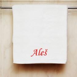 Ručník se jménem Aleš