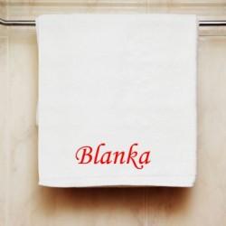 Ručník se jménem Blanka