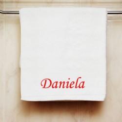 Ručník se jménem Daniela