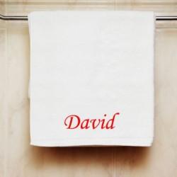 Ručník se jménem David