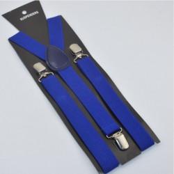 Moderní kšandy modré