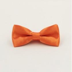 Dětský Oranžový motýlek s pevným uzlem
