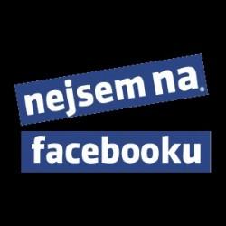 0a3d3b13857 Tričko Nejsem na facebooku