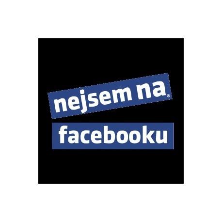 b6337f46318 Tričko Nejsem na facebooku - Wemay